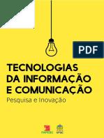 eBook Tecnologias Da Informação e Comunicação Pesquisa e Inovação
