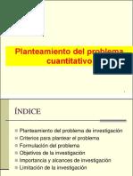 SESION-Planteamiento Del PROBLEMA Cuantitativo