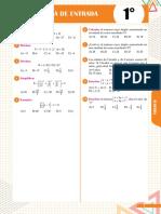 Algebra Pruebas de Entrada y Salida