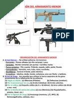 Organizacion de Armamento 1 primera Clase