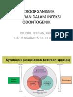 Microorganisma yang berperan dalam infeksi odontogenik.ppt
