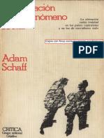 Schaff Adam - La Alienacion Como Fenomeno Social(1).pdf