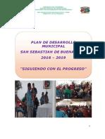 Plan de Desarrollo San Sebastian de Buenavista 2016 - 2019