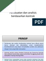 Pembuatan Dan Analisis Berdasarkan Kontrak