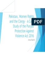 Pakistan Women Rights and Clergy