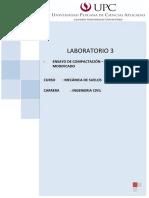 Laboratorio de Proctor