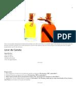Licor de Canela _ Velocidad Cuchara
