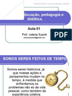 Apresentação Didatica Educação