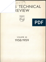 Philips Pavilion Technical Review 1958