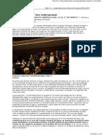Las dos aguas Del Foro Internacional (Diagonal, 16-03-12, Francia)
