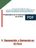 Problematica de La Generación de Energía en El Perú