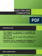 DAMAGES FOR NON COMPLETION.pptx
