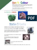 1- mineral id stations