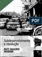 (Coleção Pátria Grande, vol. 1) Ruy Mauro Marini-Subdesenvolvimento e Revolução-Editora Insular - IELA (2013).pdf