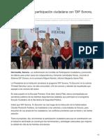 07-09-2018-DIF promueve la participación ciudadana con DIF Sonora Te Escucho - Tribuna