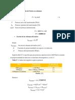 Calculos Para El Diseño Del Nucleo en Columnas