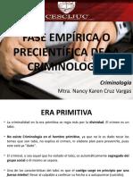Fase Empírica de La Criminología