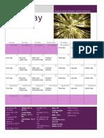 phys rx calendar