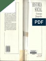 Kocka Historia Social Concepto Desarrollo Problemas