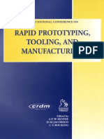A. Rennie, C. Bocking, D. Jacobson-Rapid Prototyping, Tooling and Manufacturing-Professional Engineering Publishing (1995)