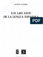 alatorre- los 1001 años de la lengua española