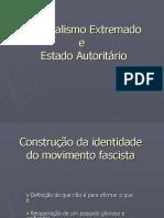 Nacionalismo extremado e estado autoritario