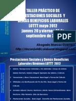 Taller de Prestaciones Sociales y Demás Beneficios Laborales