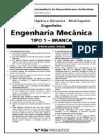 Fgv 2013 Sudene Pe Engenheiro Mecanico Gabarito