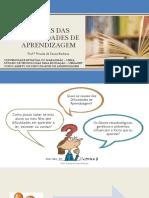 Slide 01 - As Principais Causas Das Dificuldades de Aprendizagem