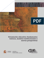 CIDE España - Orientación educativa. fundamentos teóricos, modelos institucionales y nuevas perspectivas.pdf