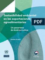 Sostenibilidad Ambiental en Las Exportaciones Agroalimentarias- Un Panorama de América Latina