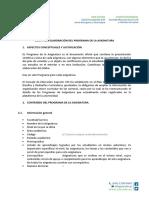 Guía Para Elaboración Del Programa de La Asignatura 2017