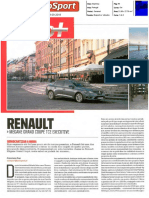 "RENAULT MÉGANE GRANDE COUPÉ TCe 130 NO ""AUTOSPORT"""