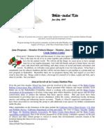 June 2007 White Tailed Kite Newsletter, Altacal Audubon Society