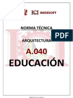 A.040 Educacion Ingesoft