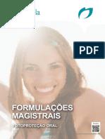 1. Fórmulações magistrais