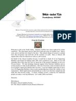 December 2007 White Tailed Kite Newsletter, Altacal Audubon Society