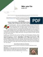 June 2008 White Tailed Kite Newsletter, Altacal Audubon Society