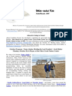 October 2008 White Tailed Kite Newsletter, Altacal Audubon Society