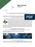June 2009 White Tailed Kite Newsletter, Altacal Audubon Society