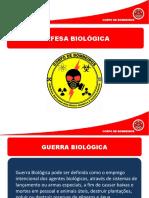 DEFESA BIOLÓGICA - QBRN