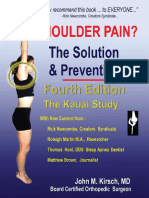 Shoulder Pain the Solution & Prevention, Fourth Edition( MASUD)