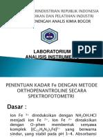 Fe Metode O-phen