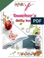 Teacher's Daily Book