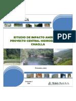 Estudio de Impacto Ambiental Proyecto Central Hidroeléctrica Chaglla