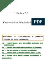 2.0 - Características Principais Dos Navios