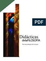 Cárdenas-Restrepo Didácticas de La Filosofía. Para Una Pedagogía Del Concepto