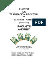 Tramitacion Procesal Turno Libre Pah Indice y Presentacion