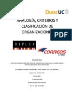Analogía Entre Empresas Publica y Privada (Ripley-CorreosChile)