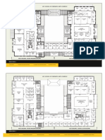 USC Cinematic Arts Complex Floorplan Map Floors 2-3